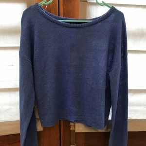 NWT Wild Fable Blue Acrylic Sweater Medium